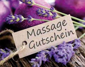 Massage Gutschein für Thai Massage Malee